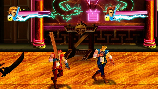 Double Dragon Neon Review Mash Those Buttons