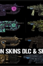 Gears-of-War-3-Complete-Weapon-Skins-DLC-and-Weapon-Skin-Unlockables-