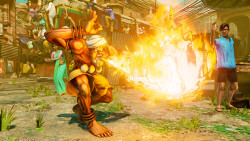 Street Fighter V Dhalsim