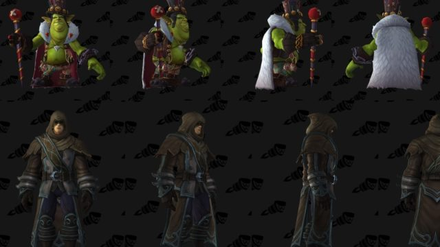World of Warcraft Patch 7.2 Models