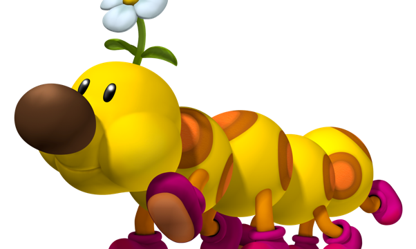 Wiggler and honey queen join the cast of mario kart 7 - Personnage mario kart 7 ...